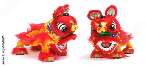 Chinese Lion Dance Ornament