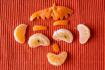 bonhomme mandarine