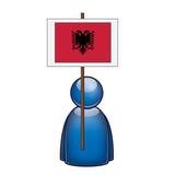 Pancarta Albania poster