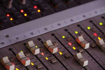 Tonstudio Mischpult Technik 3