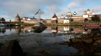 Russia, Solovetsky monastery in Kareliya