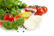 tomato and mozzarella salad ingredients