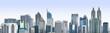 Quadro Jakarta City Panoramic