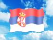 Bandeira da Servia
