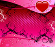 Valentine Heart Background 2