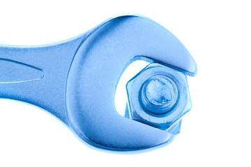 Schraubenschlüssel. Werkzeug der Metallindustrie.