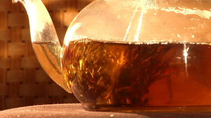 infusion of Chinese herbal red tea