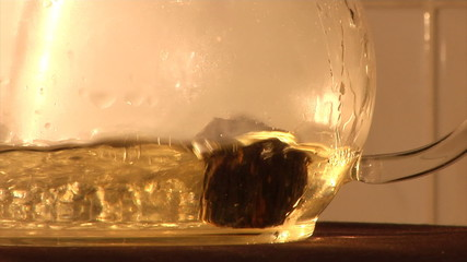 infusion of Chinese herbal tea