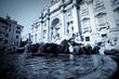 Leinwanddruck Bild - Fontaine de trévise Rome