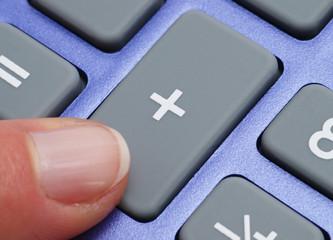 Pocket Calculator Close-up - Taschenrechner Makro