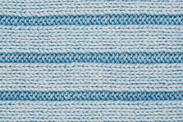 Blue wool texture or background.