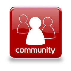 Button Community red