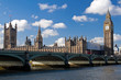 The Big Ben and the Houses of Parliament in London