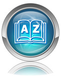 A-Z Web Button (Dictionary Index Directory Search Alphabetical) poster
