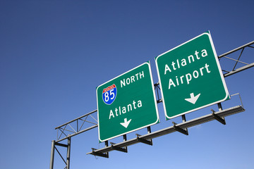 Atlanta Freeway Signs