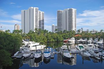 Marina in Aventura,Florida