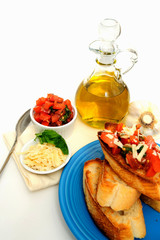 Bruschetta With Olive Oil