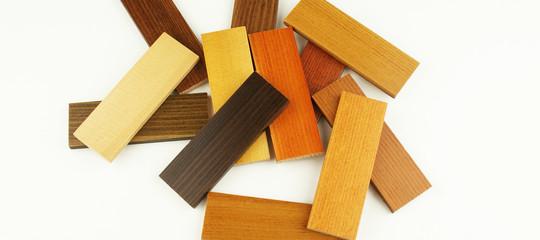 échantillons bois