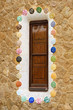Mosaic element in Park Guell Barcelona