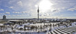 Leinwanddruck Bild - 180° Panorama München
