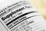 Nutritional Content Label poster