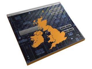 Browserfenster - England - 3D