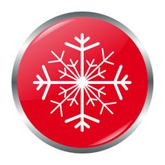 Schneeflocke Button