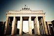 Brandenburger Tor in Berlin - abstrakt
