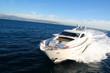 Leinwandbild Motiv yacht en baie de cannes