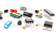 Radio components on white background - 20486875