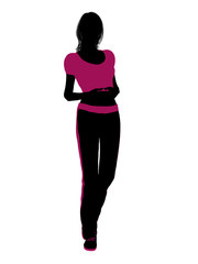 Female Workout Silhouette
