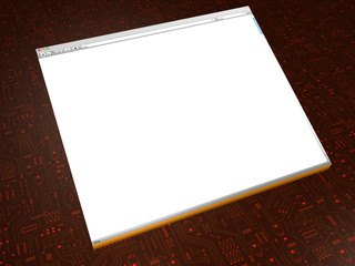 Browserfenster - Textbox - 3D