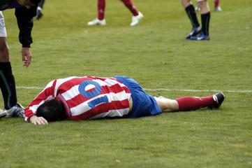 Futbolista herido 20