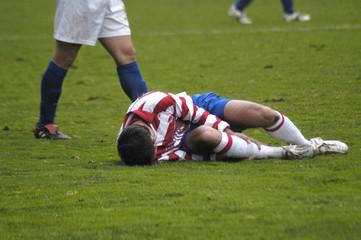 Futbolista herido 23