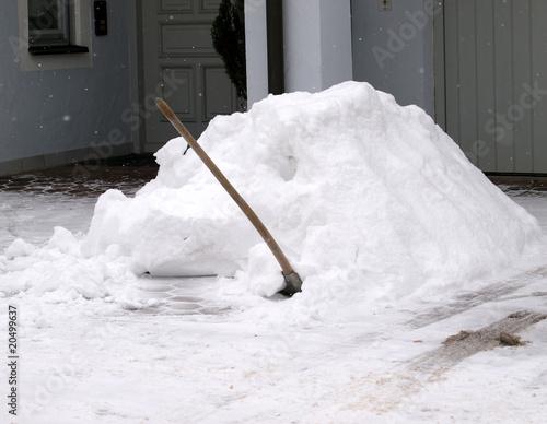 Schneeschaufel - 20499637