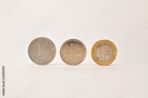 Ostmark, D-Mark, Euro