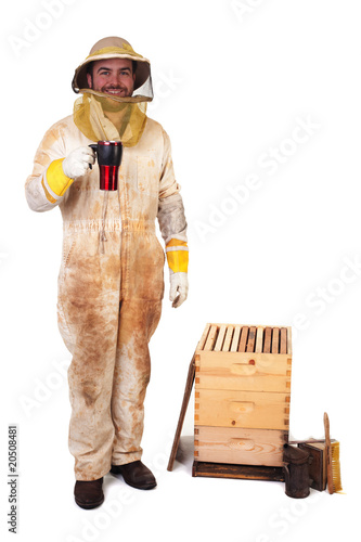 Beekeeper and His Coffee