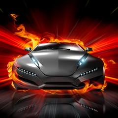 Hot car. My own car design.