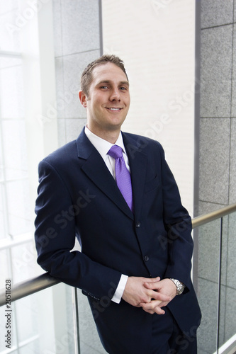 Smiling Business man Portrait