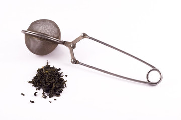 Organic Loose Leaf Green Tea Leaves with Infuser
