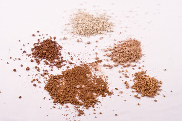 5 Shades of Mica Mineral Powder Cosmetics