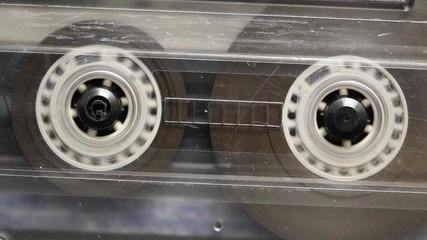 Compact Cassette, Tape, drehend