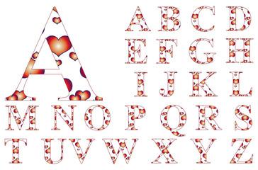Alphabet - Set - Herze