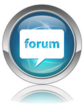 FORUM Web Button (Online Internet Blog Chat Live Online Site OK) poster