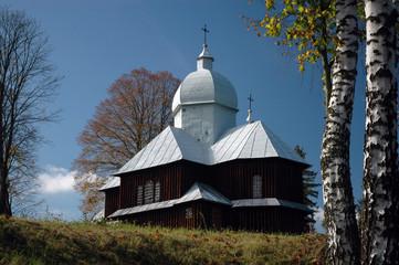 rural wooden church