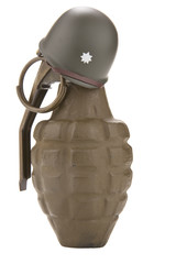 Hand Grenade with Helmet