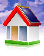 icon haus solardach energiesparhaus niedrig-energie