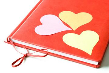 Three Hearts on a Diary
