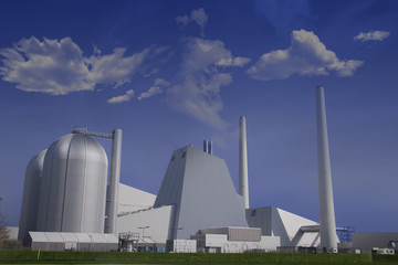 Modern non poluting powerplant