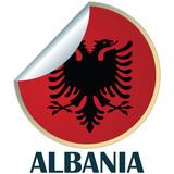 Albania Sticker poster